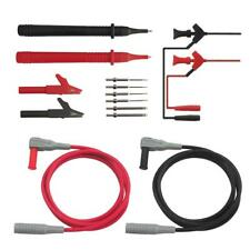 14 in 1 Test Lead Kit Multimeter Meter Test Probes Kit with Alligator Clips