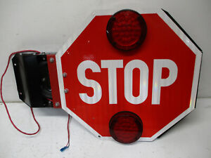 SPECIALTY MANUFACTURING 007500 SCHOOL BUS STOP SIGN CROSSING ARM BASE TBB 166755