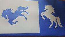 Schablone 359 Pferd Wandtattoo Möbel Leinwand Textilgestaltung Airbrush Stencil