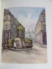 1915 BATH & BRISTOL A&C BLACK 20 COL PLATES ROMAN BATHS CLIFTON FRENCHAY