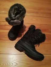 Snow boots, DREAM PAIRS, black, size 8