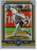 Jacob deGrom 2019 Topps Museum 5x7 Gold #54 /10 Mets