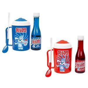 Slush Puppie Slushie Making Cups With Flavoured Syrup Official Slush Puppy Drink