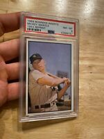 Mickey Mantle PSA 8 NEAR MINT 1989 Bowman Yankee Collector Card INVEST Man Cave
