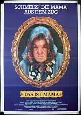 Throw Momma from the Train German movie poster B rare Billy Crystal Danny DeVito