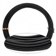 45 Feet Black Anodized Aluminum Wire 2MM Round 12 Gauge