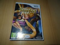 Tangled Wii new and sealed pal version