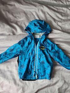 Boys Rain Jacket 4-5 Coat Waterproof Light Windproof