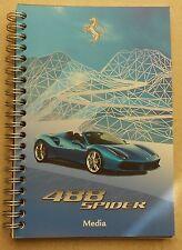 Ferrari 488 Spider 2015 IAA Frankfurt Pressebuch brochure prospekt depliant book