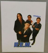 1x Sticker - Decal  / R.E.M. 80/90's (08631)