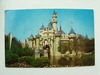 Vtg 1963 Disneyland Sleeping Beauty Castle, Magic Kingdom, Fantasyland Postcard
