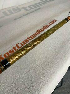 "7'6"" KOST CUSTOM RODS GB Glass, Med-Hvy Power, Mod-Fast Action, E-Glass Material"