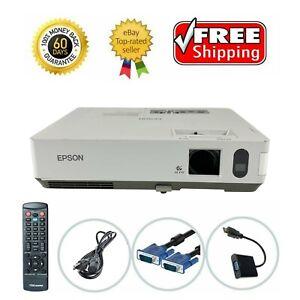 Epson PowerLite 1815P 3LCD Projector Wireless 3500 ANSI HDMI-adapter w/bundle