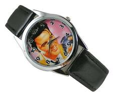 Elvis Presley Fashion Metal Watch Wrist Man Women Girl Boy Xmas YMF