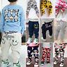 Toddler Baby Kids Boys Girl Casual Harem PP Pants Long Trousers Bottoms Leggings