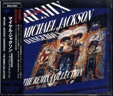 MICHAEL JACKSON Dangerous The Remix Collection JAPAN 1993 CD W/Obi ESCA5801 RARE