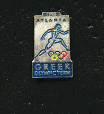 Atlanta 1996 26th Summer Olympic Games RARE GREEK - GREECE  NOC Team  pin