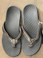 Women's Vionic Sandals Size 7 Pewter Gray Orthaheel
