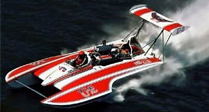 "46"" MISS US 1976 GOLD CUP CHAMPION UNLIMITED HYDROPLANE RC BOAT KIT - USA MADE !"