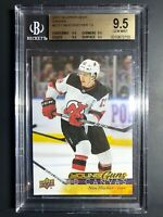 2017-18 Upper Deck Nico Hischier Young Guns Canvas Rookie BGS 9.5 True Gem