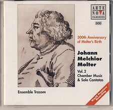 Molter, Vol. 2: Chamber Music and Solo Cantatas (1996, Arte Nova) Like New