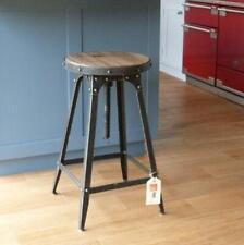 Café-style breakfast bar stool, Pewter colour, adjustable height
