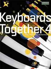 Keyboards Together 4 - ABRSM Music Medals Gold Ensemble Pieces Sheet Music Book