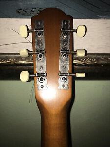 Framus 75 A Akustik Gitarre Retro Vintage Rar Guter Zustand Gigbag Germany