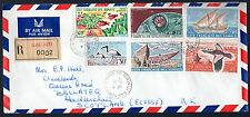 1965 French Somali Coast - 3 Unique Covers £144+ Cat Vfu Stamps