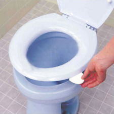 New Sanitary Toilet Seat Cover Lifter Toilet Bowl Seat Cover Lift Handle White