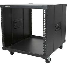 Startech.com Portable Server Rack With Handles - Rolling Cabinet - 9u - 17.70""