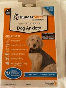 XL Thundershirt NEW Dog Anxiety Fireworks Thunderstorms Car & Air Travel & More