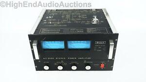 McIntosh MC 2500 Stereo Power Amplifier - 500 Watts/CH - Vintage Classic