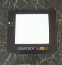 Nintendo Gameboy Color horror Lente de Pantalla de reemplazo para el color Gameboy solo