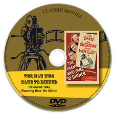 The Man Who Came to Dinner - Bette Davis, Ann Sheridan - Comedy Romance 1942 DVD
