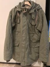 Official Jeep Military Utility Hoodie Parka Zip Oudoors Mens Size Medium