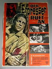 ERPRESSER RUFT AN *Gino Cervi /BONNÉ-GRAPHIK -A1-Kinoposter -German 1-Sheet 1963
