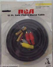 RCA (VH914) 12FT Composite rca Video AV Kit For TV DVD, Home Theater, VCR, Ect