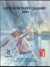 1994 GTE SUNCOAST CLASSIC CALVIN PEETE, LARRY GILBERT, BOB BETLEY AUTOGRAPH