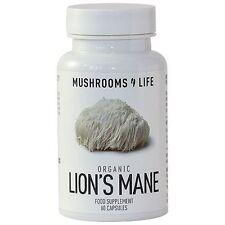 Mushrooms 4 Life Organic Lion's Mane 60 Capsules