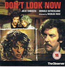 Don't Look Now -  Julie Christie, Donald Sutherland, Hilary Mason - DVD Film N/P