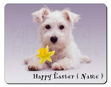 Personalised Name Westie Computer Mouse Mat Christmas Gift Idea, AD-W7DA2M