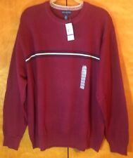 John Ashford Mens Solid Pullover Sweater darkforest 2XLT Big /& Tall