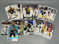 Boston Bruins 24-Card Team Lot With 2019-20 & 2020-21 Upper Deck & O-Pee-Chee