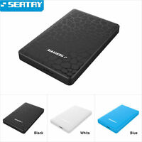 SEATAY USB 3.0 2.5'' SATA Enclosure External Case For SSD HDD Hard Drive Disk