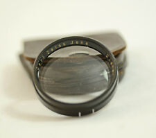 VINTAGE CARL ZEISS JENA DISTARLINSE 2 / III 36MM LENS WITH CASE