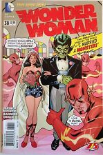 The New 52 Wonder Woman #38 Comic Book NM 1st Print Flash 75th Variant Cover