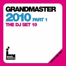 Mastermix el gran maestro 2010 Pt1 & Tabla de música continua Megamix doble CD de DJ