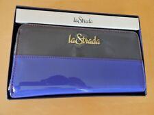 RFID blocking protection: La Strada Ladies 19cm Zip Around Clutch Purse