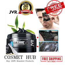 JVRx Black Mask For Face Skin Care Bamboo Charcoal Facial Masks Remove Blackhead